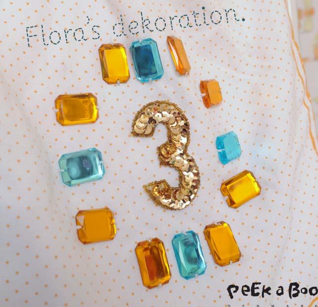 Flora's dekoration.