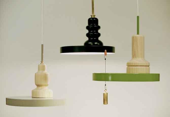 Sami Kallio's fine lamps.