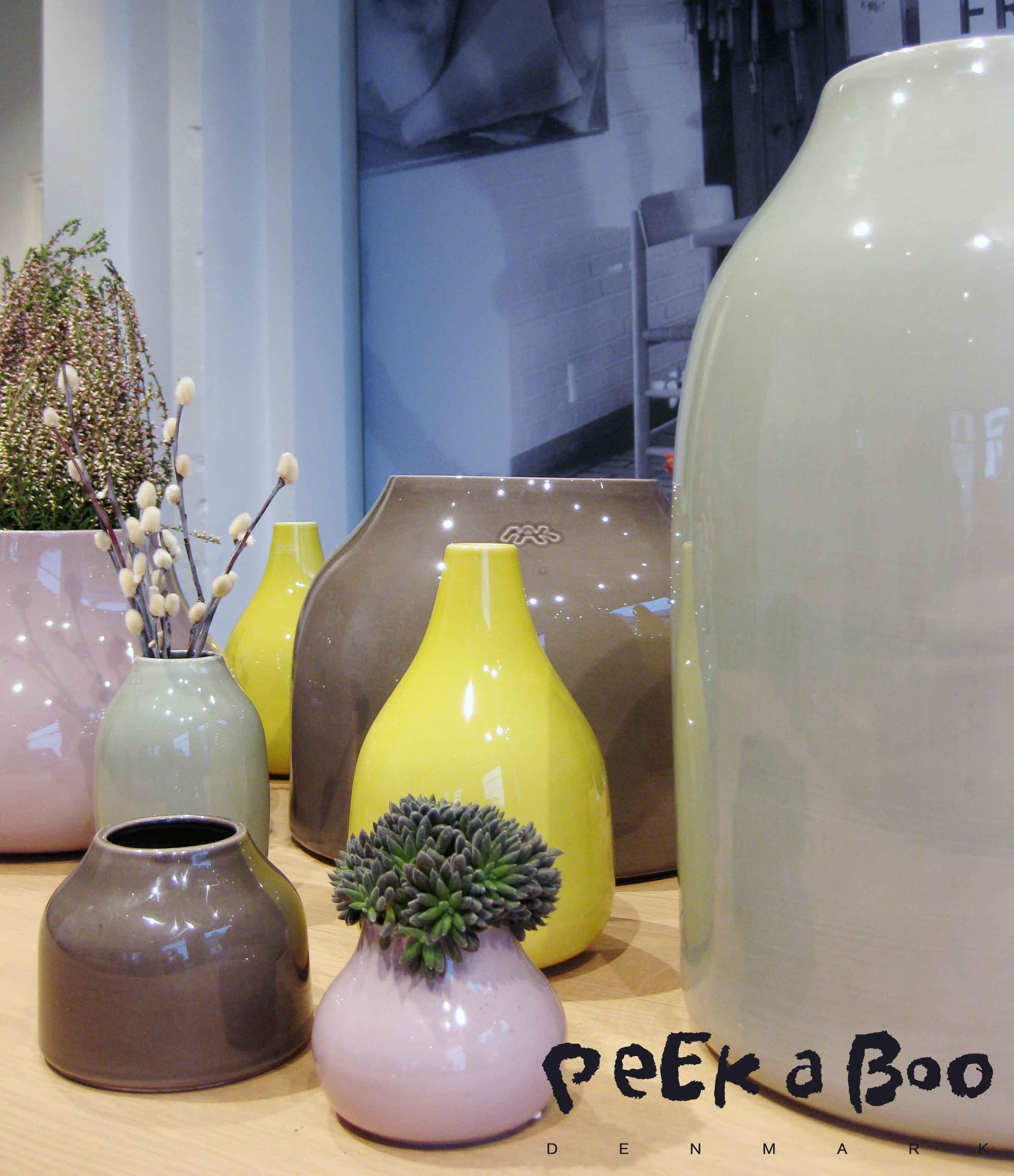 Botanica vaserne i store og mini udgaverne sammen. Super skønne er de !