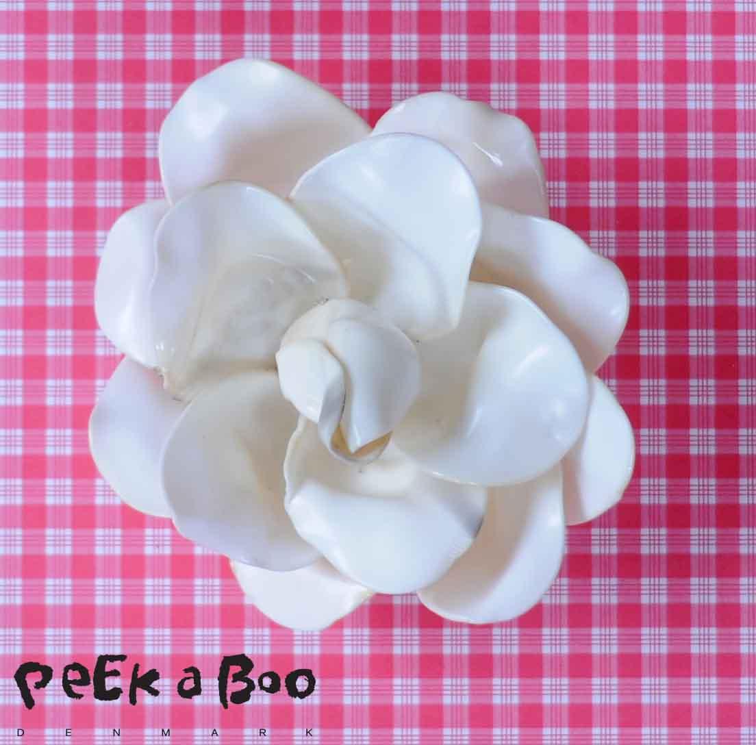 DIY plastic spoon rose.
