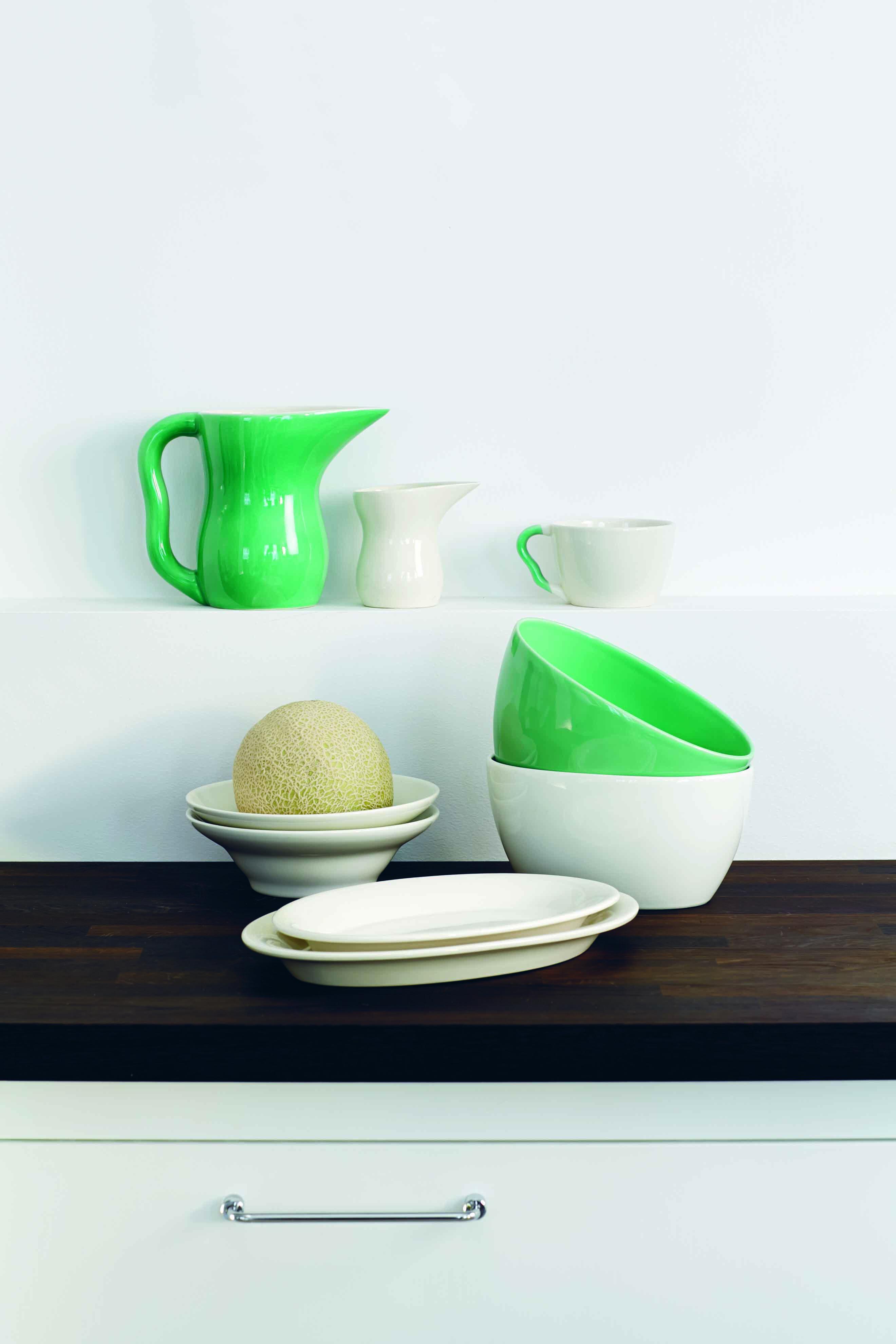 Stellet Ursula, designet for Royal Copenhagen tidligere nu er serien igen sat i produktion af Kähler design.