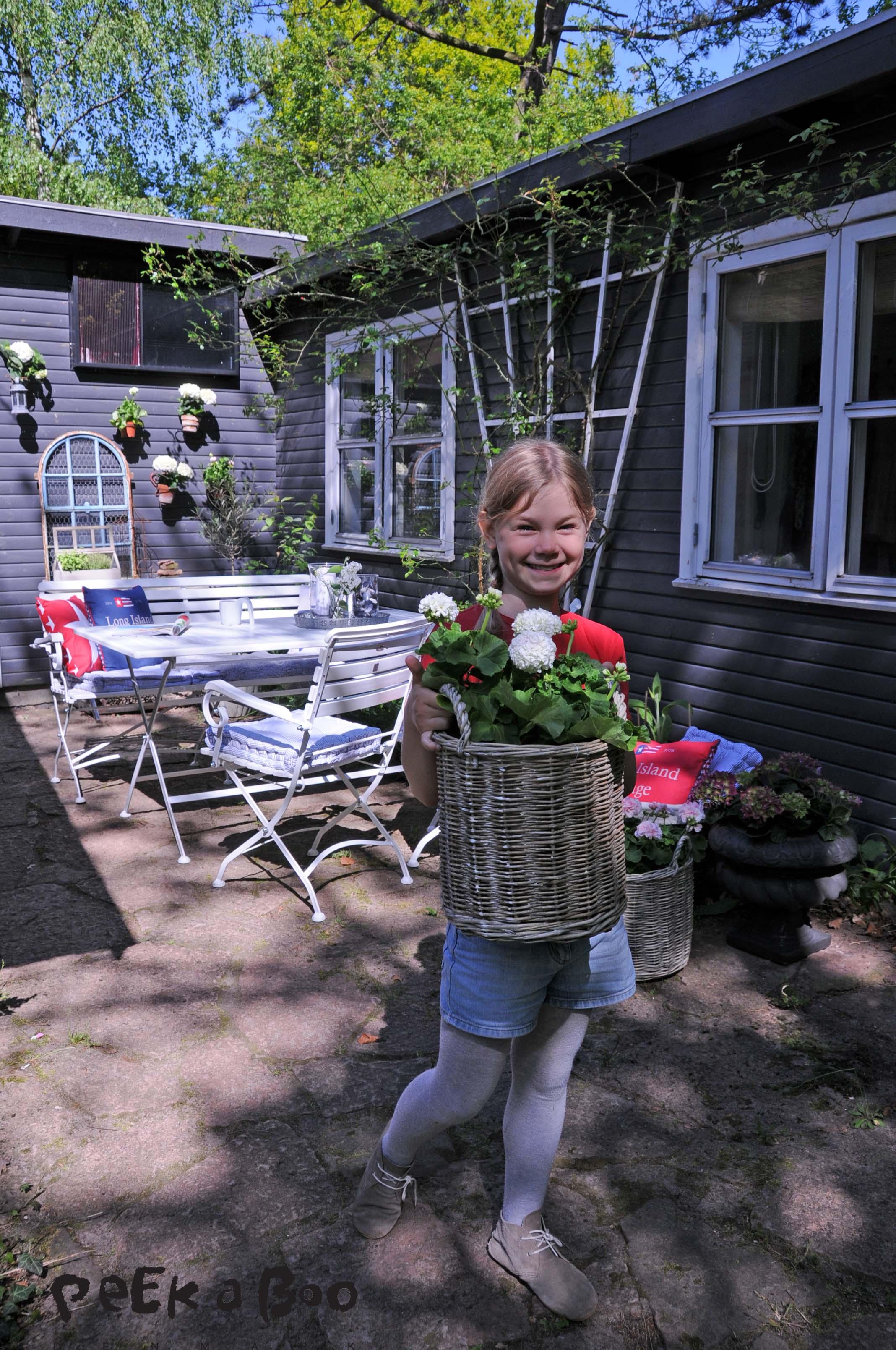havekrukke sæt kubb, pil, jysk, floradania, pelagonia, Den lille hjælper, Flora