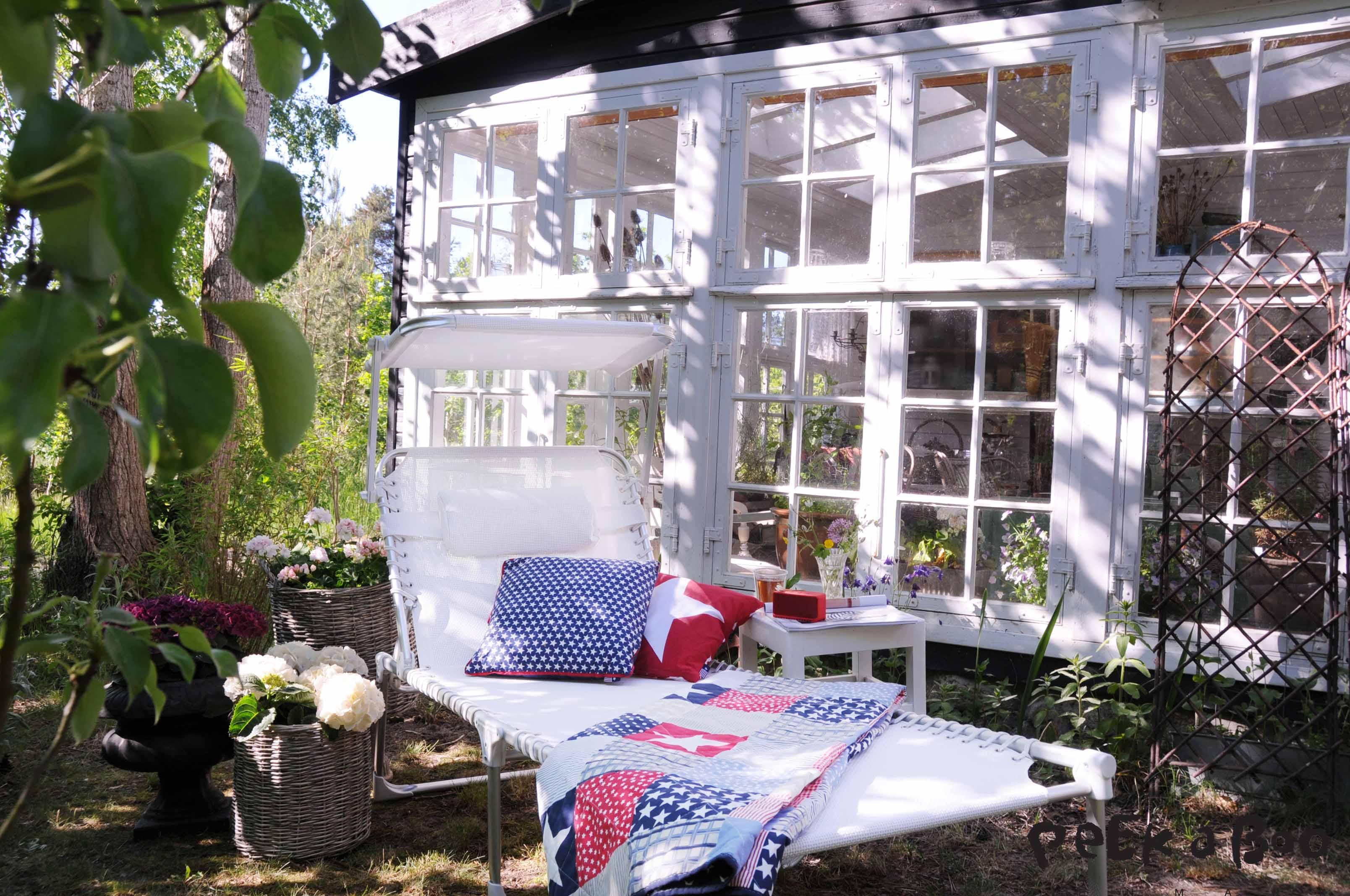 Klar til hygge og dejlige timer i solen.