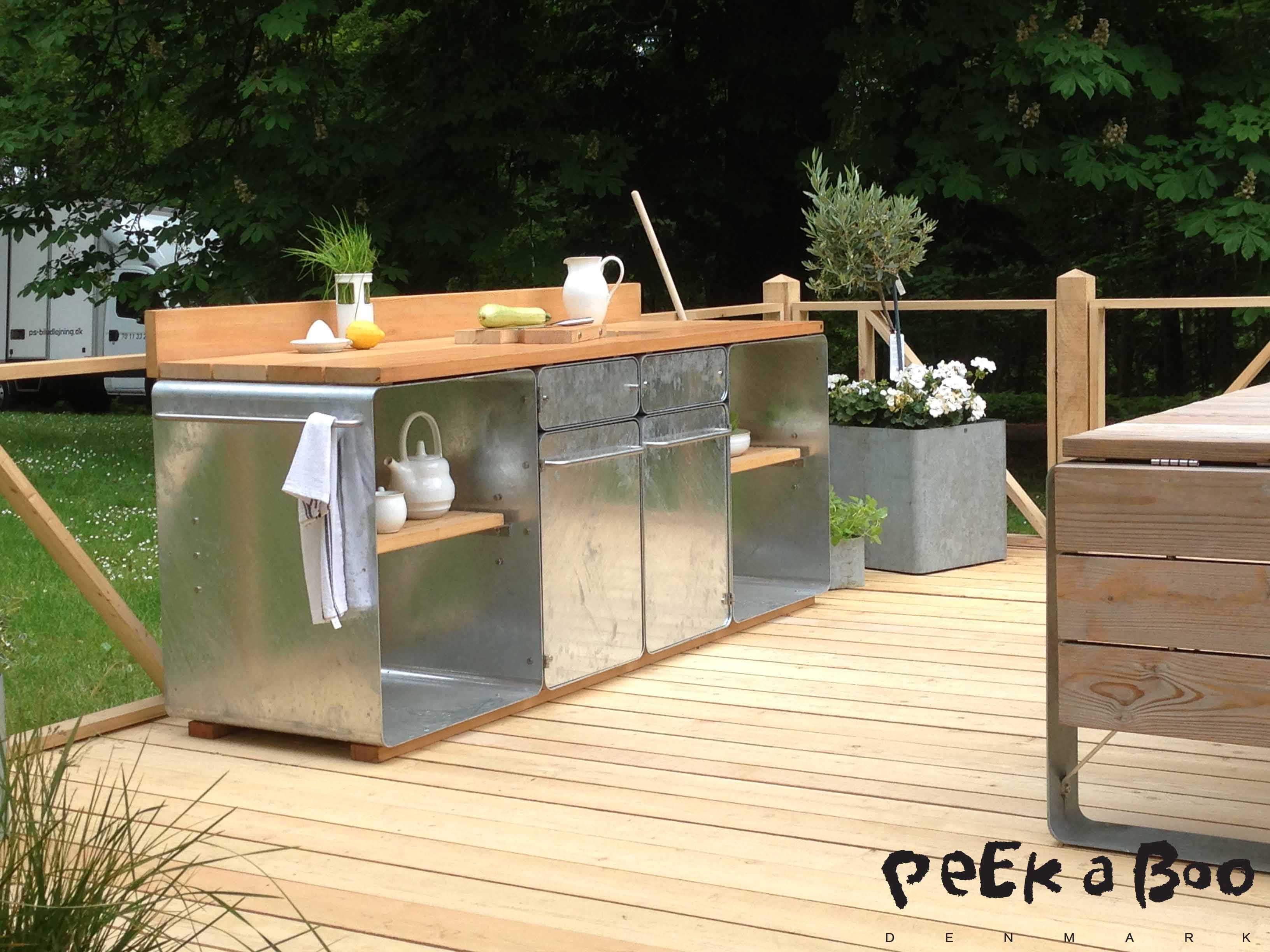 Outdoor kitchen from OUTSIDE design. danish design at it's best.