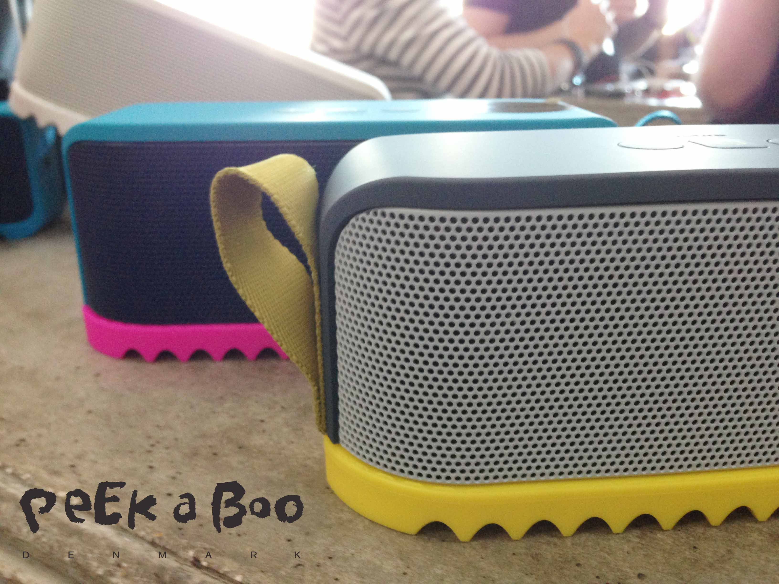 Solemate from Jabra, to bring the music to your garden, beach or anywhere you go.