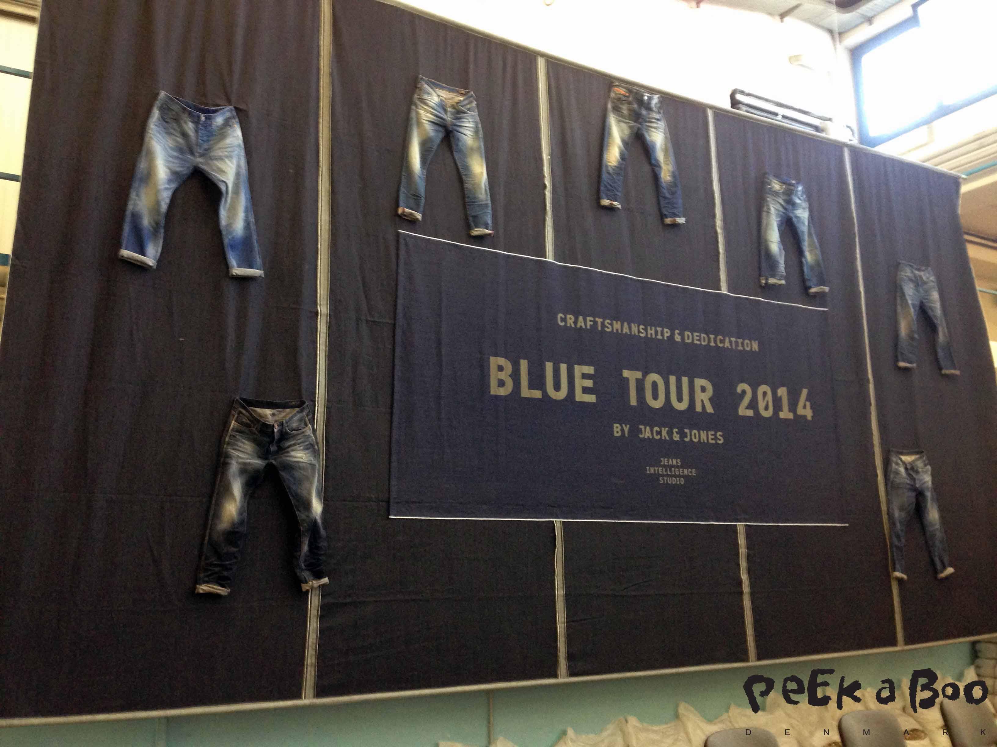 Jack & Jones blue tour 2014