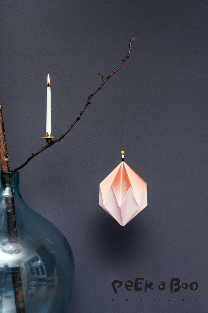 Christmas ornament from Peekaboo design for Nordic Style mag.
