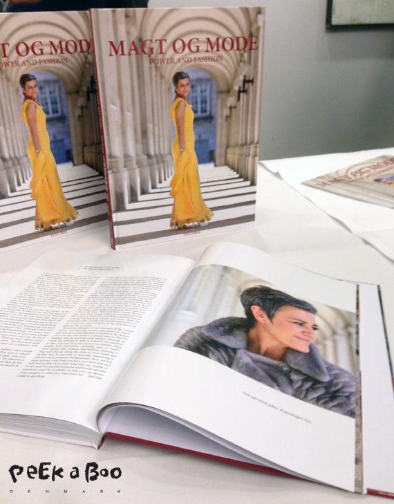 Magt og Mode bogen der udkom for en måned siden. Spændende vinkel på politik og mode.