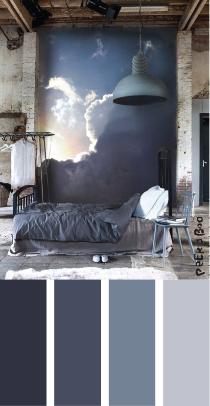 Colour trend interior by Peekaboo design