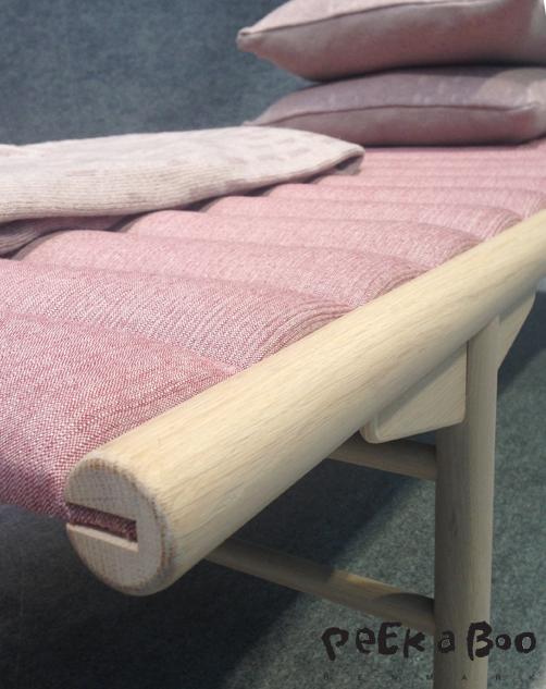 Menu daybed designed by Anita Johansen.