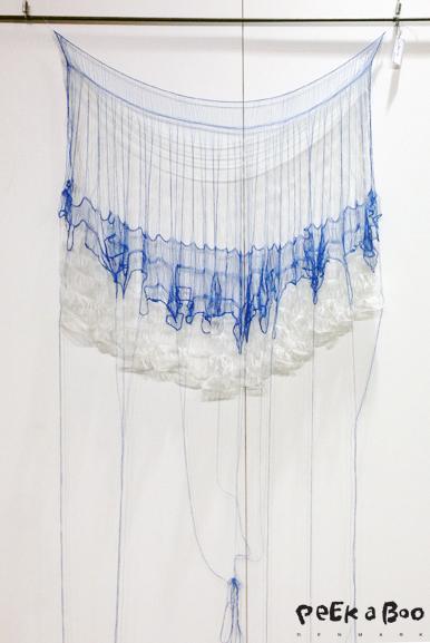 Iben Høj's fantastic knit wall decoration.