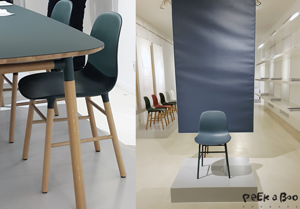 he Form collection from Normann Copenhagen designed by Simon Legald.