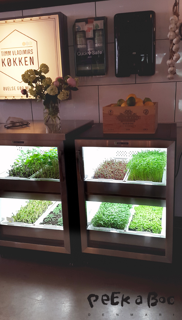 Urban Cultivator cupboard to match your kitchen.