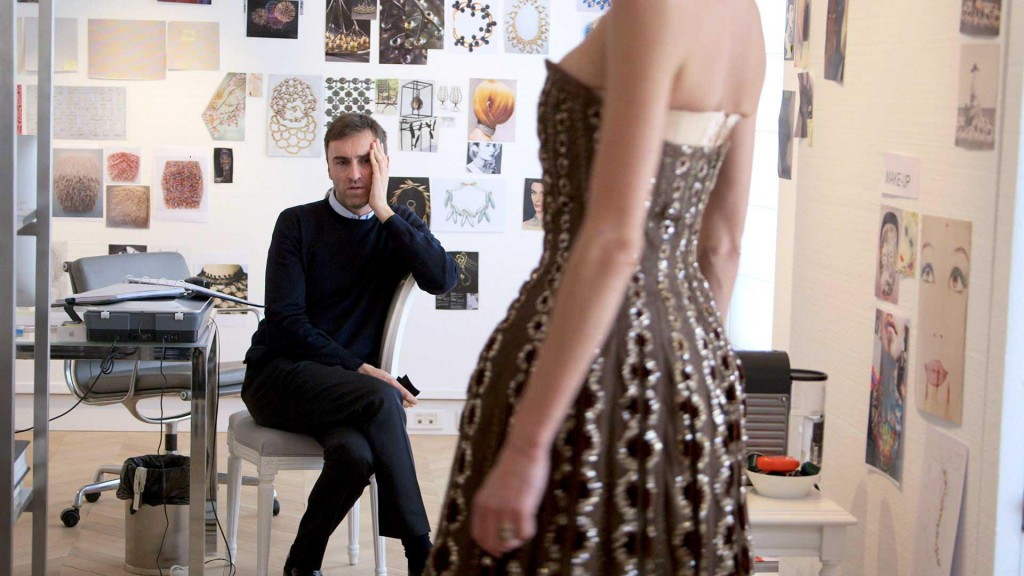"""From the movie """"Dior and I"""" where you follow Raf Simons, Head of Design in his universe."""