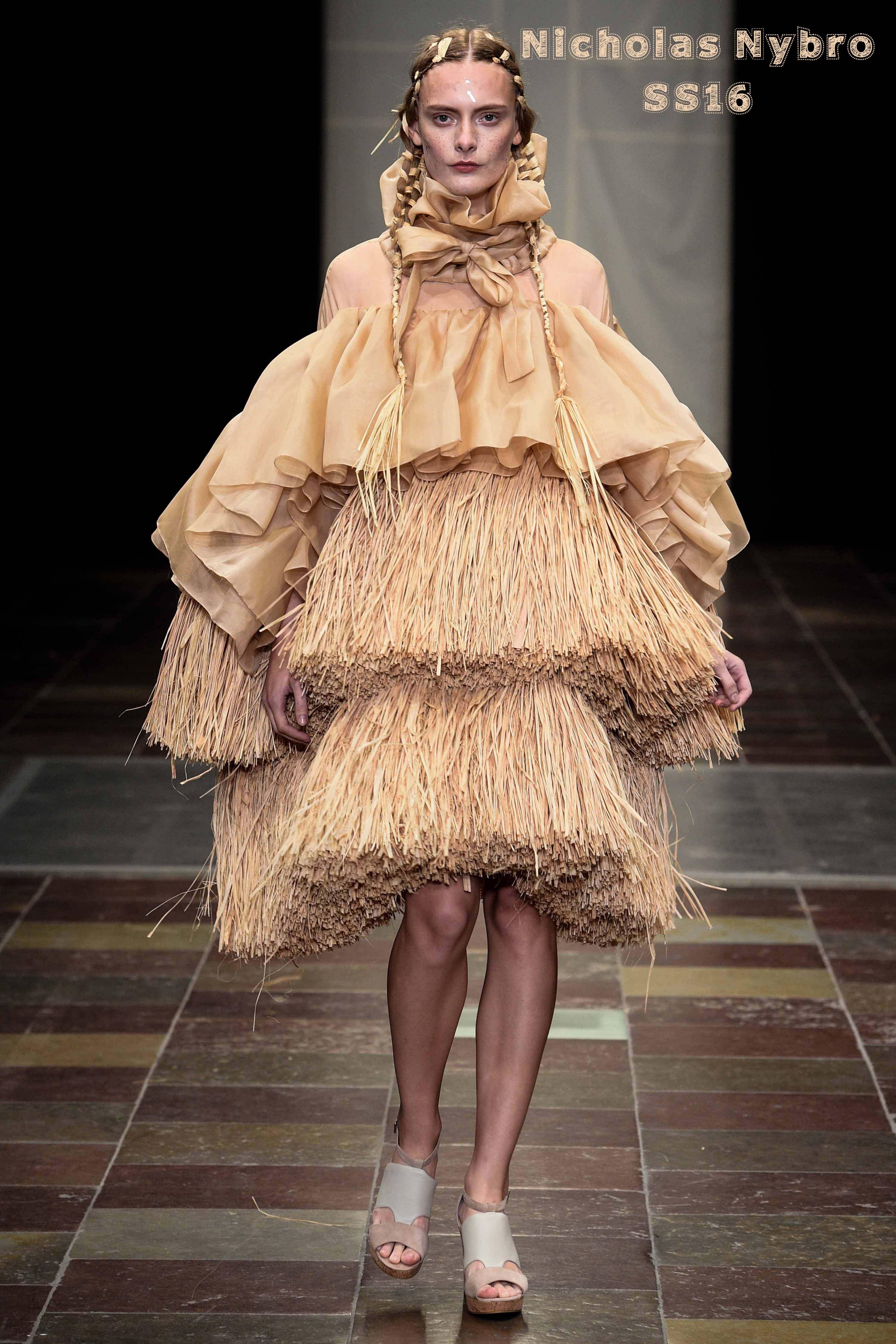 Nicholas Nybro showed a fantastic SS16 Collection at Copenhagen Fashion week.