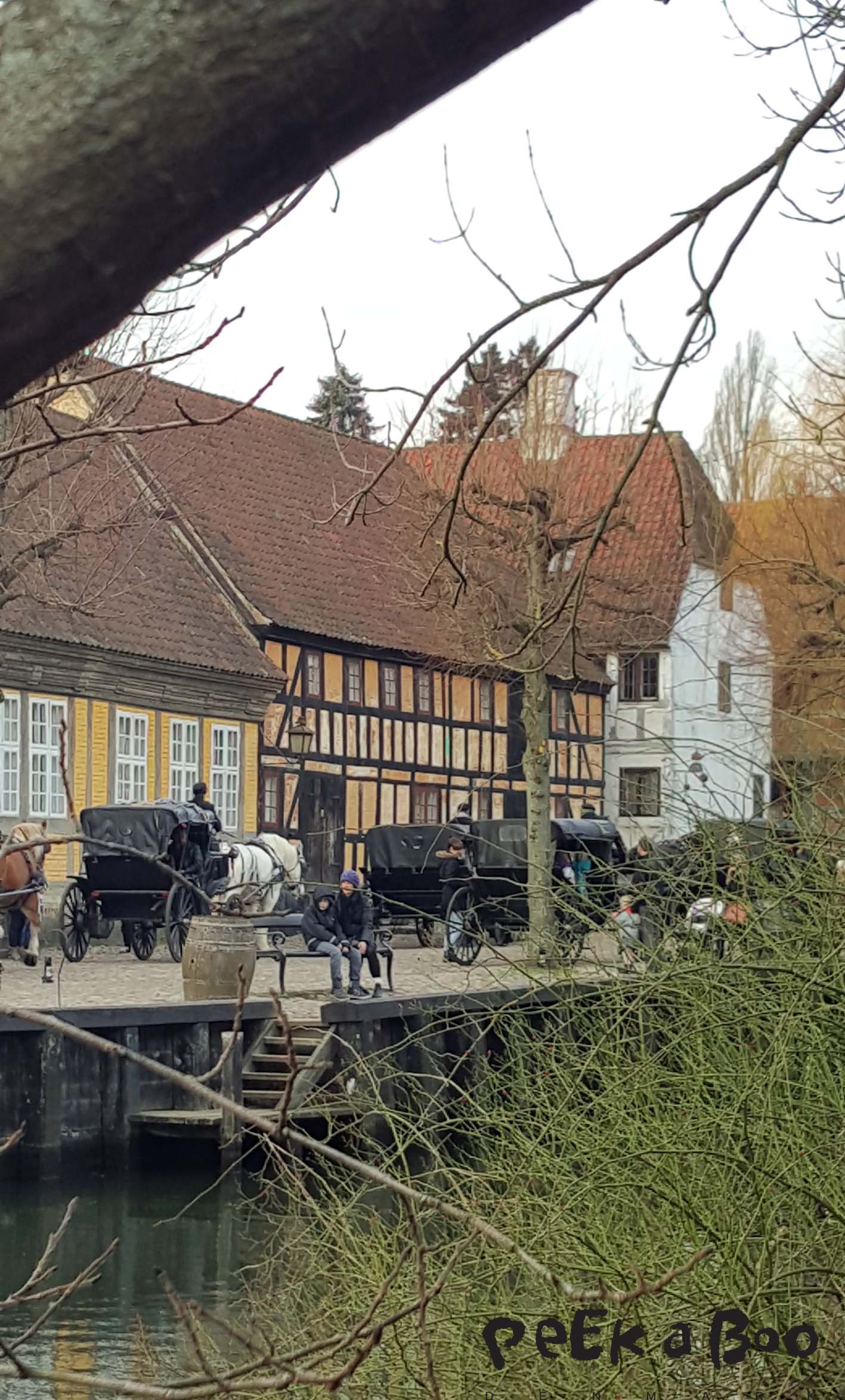 Den gamle by i Århus, Denmark.