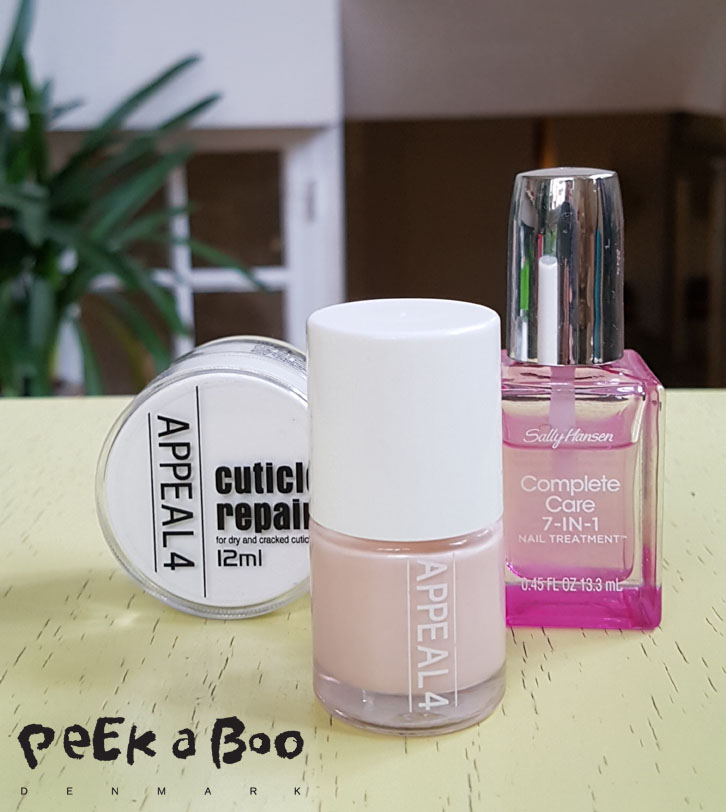 Nail care from Sally Hansen and Appeal4.