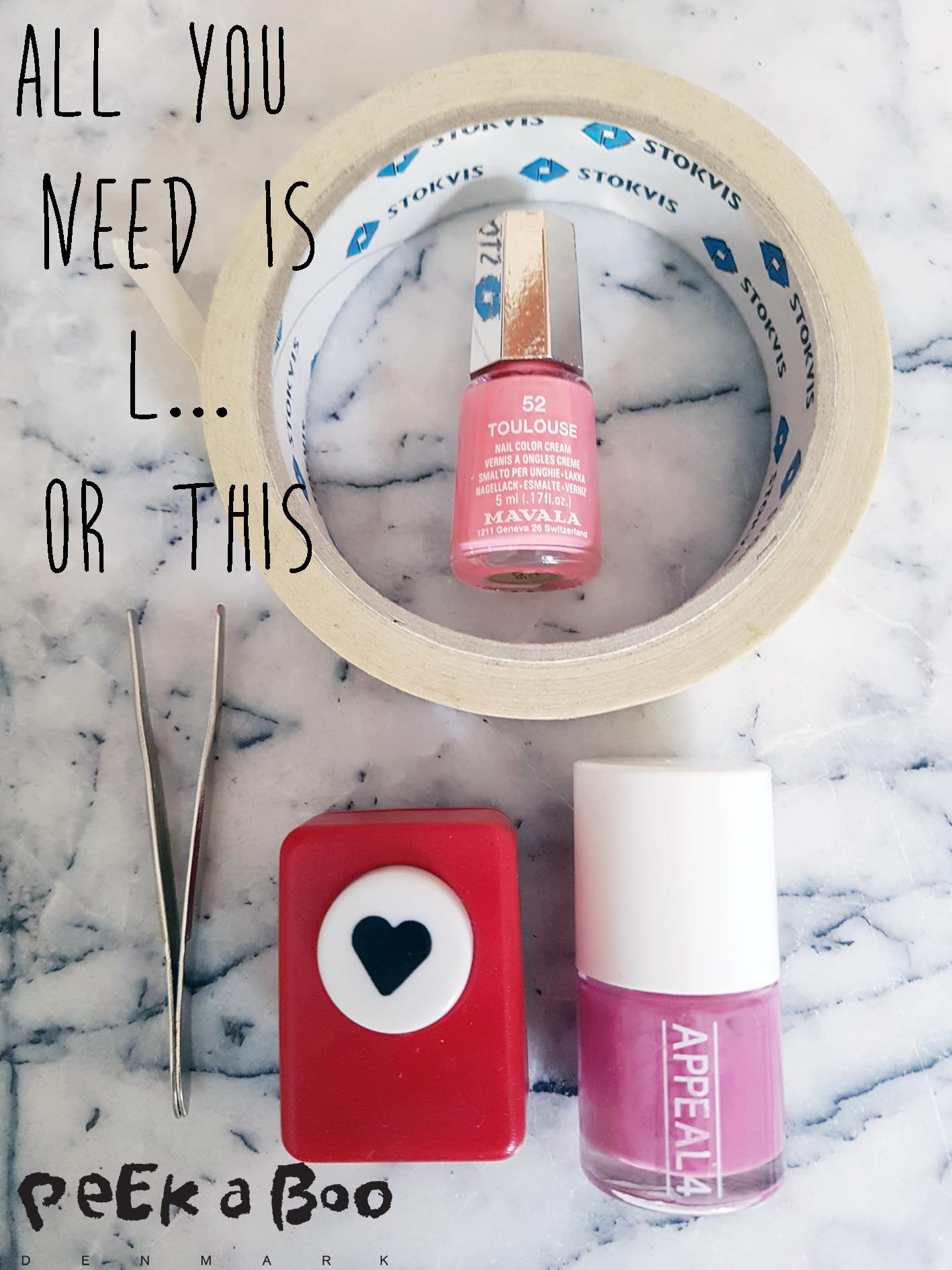 materials for the heart nails.