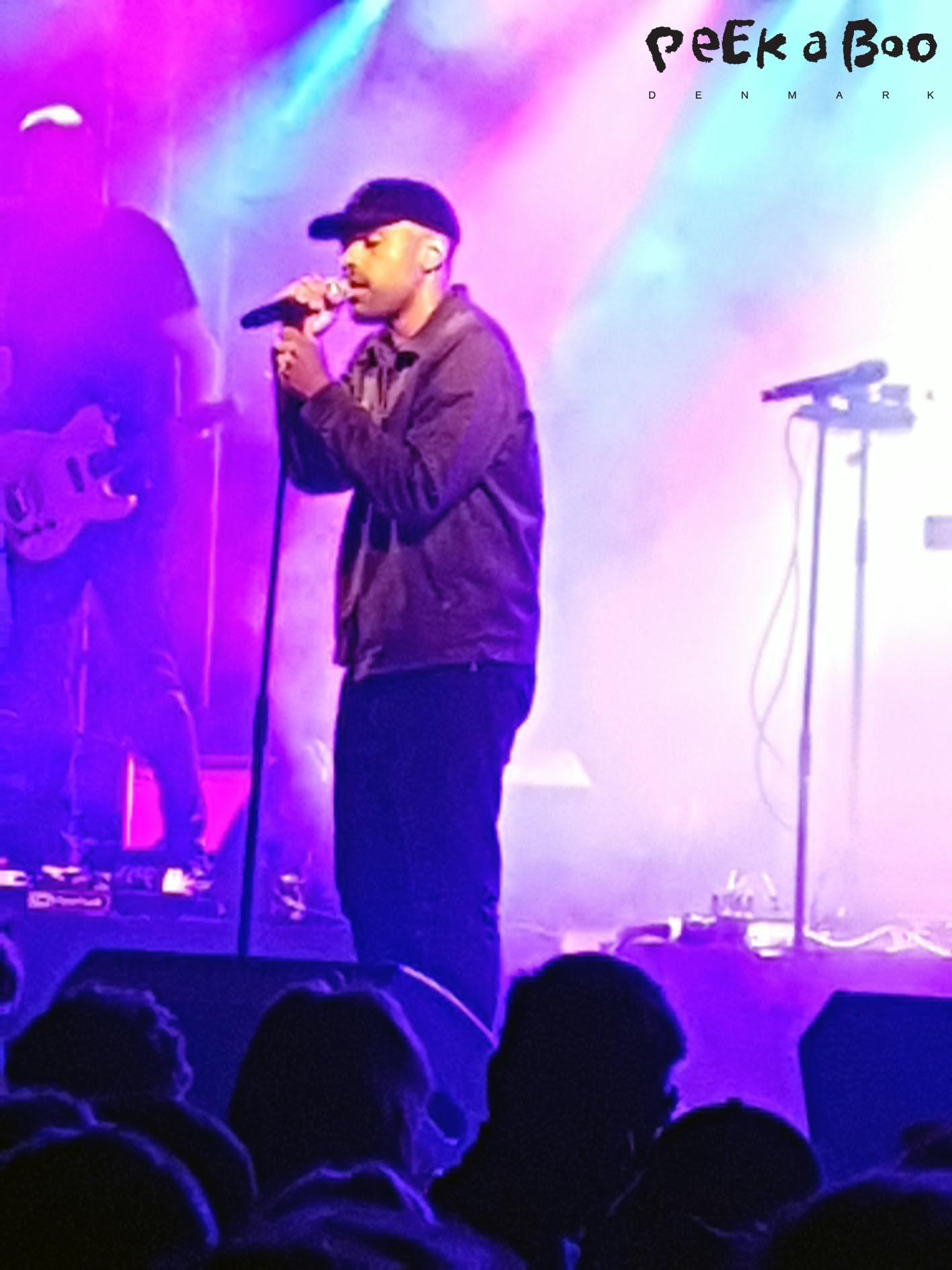 Ukendt kunstner played a fantastic concert at Vig Festival 2016.