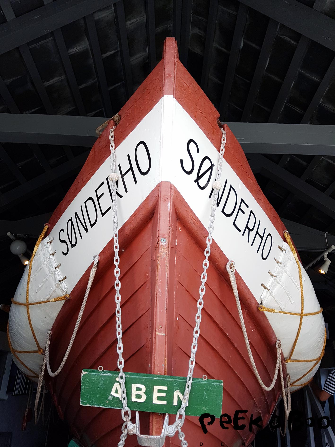 Old lifeboat.