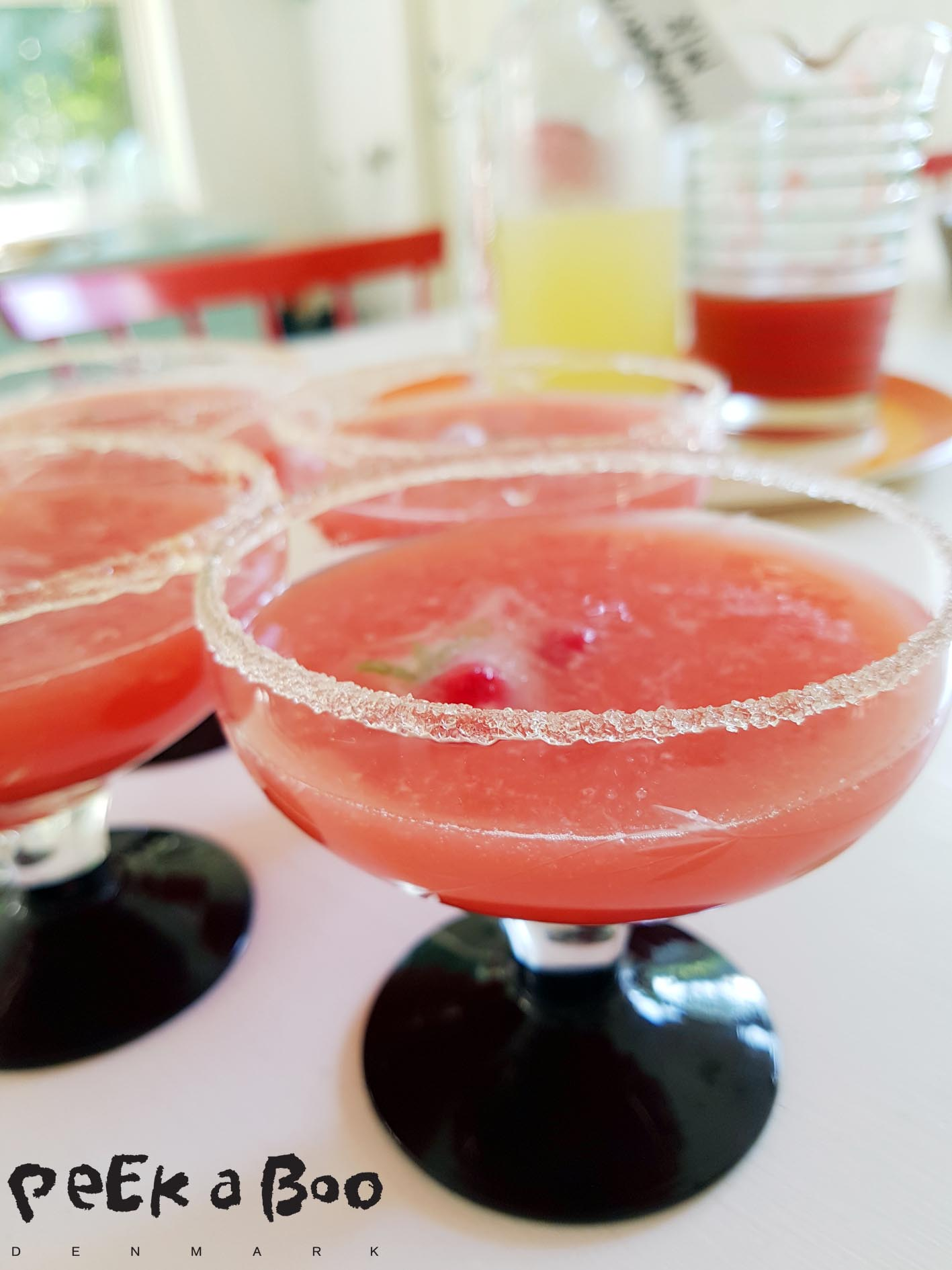 watermelon margarita...my new favorite drink.