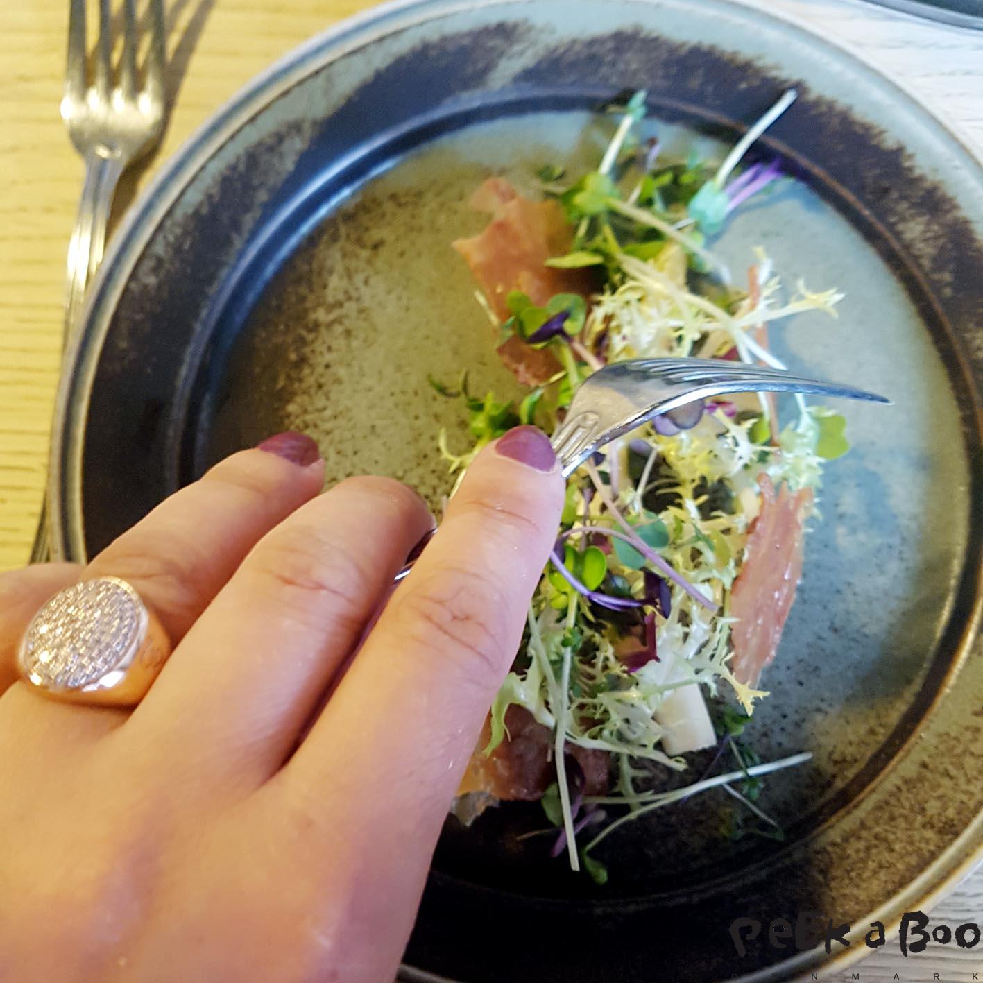andeskind og asparges mini