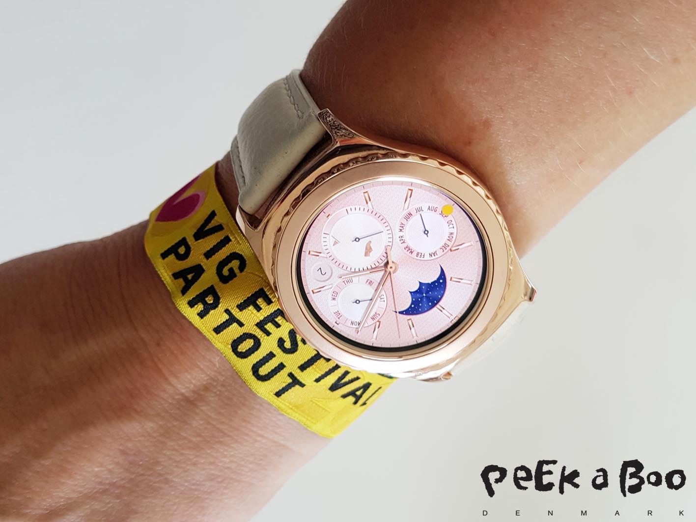 Ready for Vig festival wearing Samsung Gear S2...