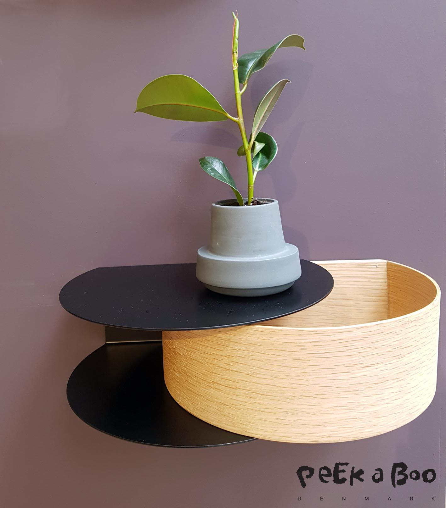Nighttable or for your hallway...this little thing is perfect for any home. By Woud design.