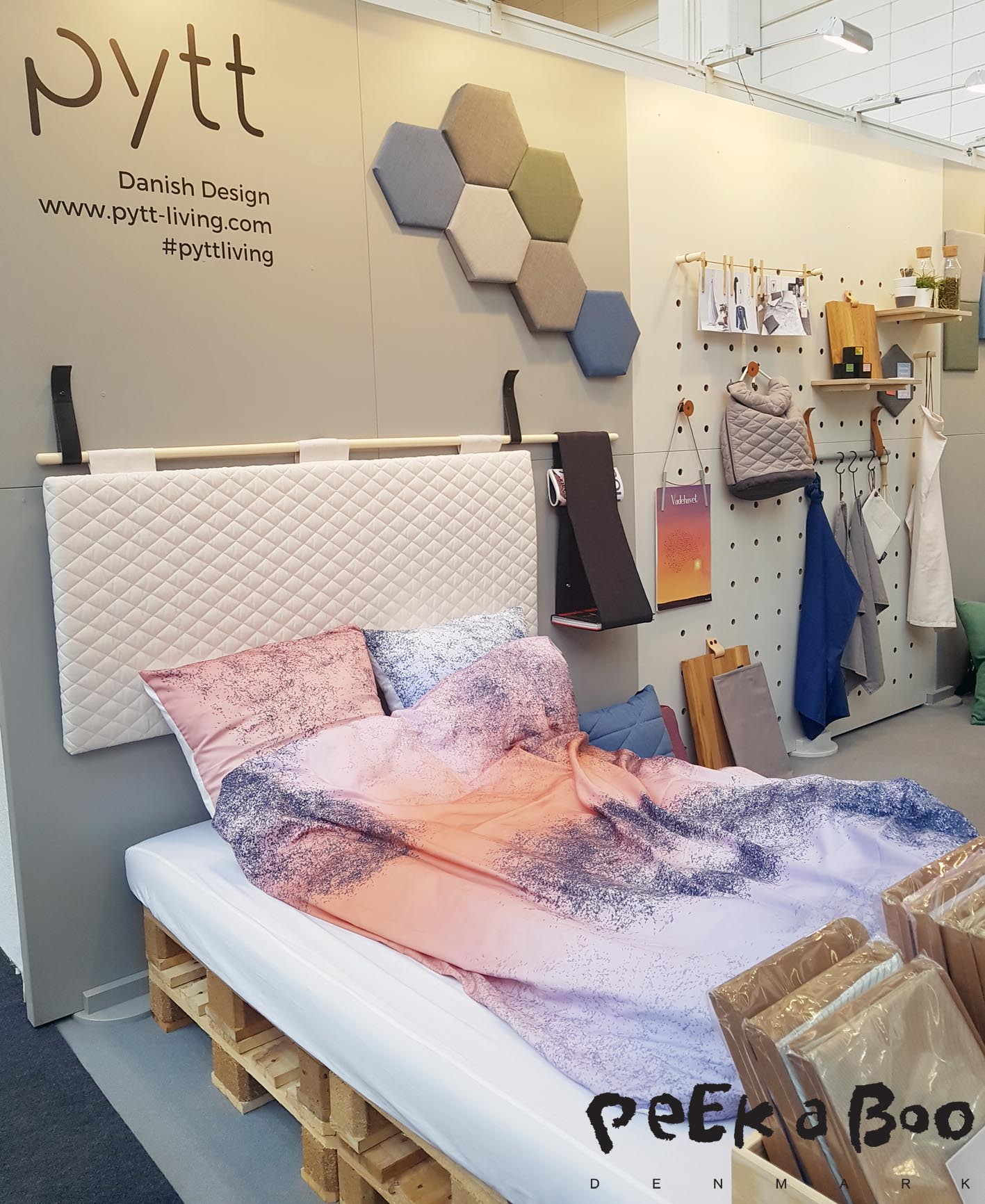 They have also made headboard for your bed and bedlinen in the softest material the motif is cut so that none of them will become alike.