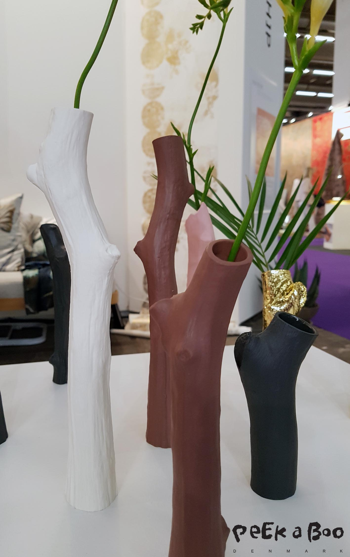 "The ceramic vase ""branch"" designed by Jane Holmberg and sold through Designer Ship."